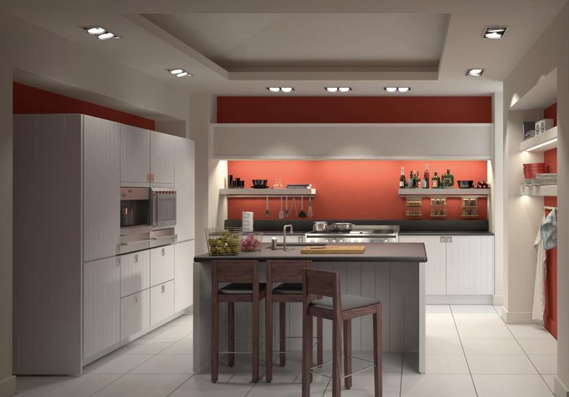 Beautiful Interior of a Modern Kitchen   Interior Architecture